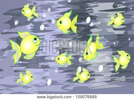 Funny  little Fishes