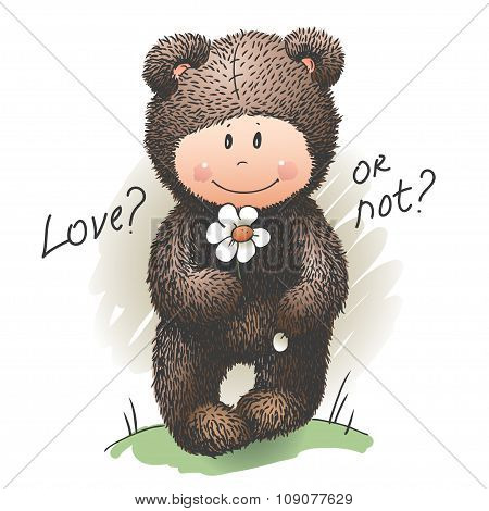 Teddy-Bear in love