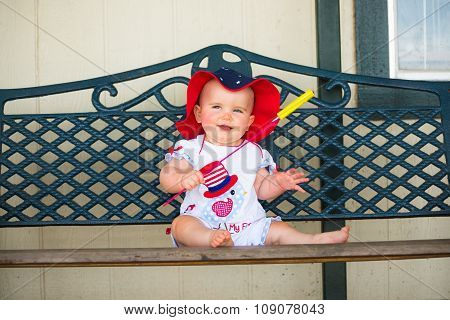 Cute 4Th Of July Baby