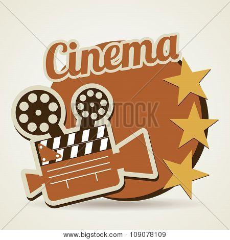 Cinema icons design