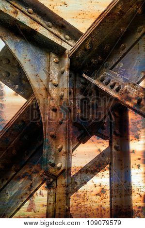Rusty Metallic Structure