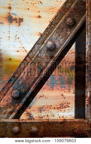 Rusty Metallic Structure 1