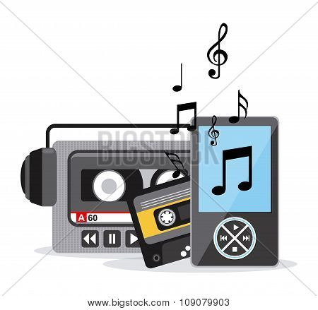 Music icons design