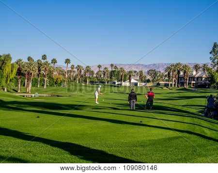 Golfing at the Marriott Villas