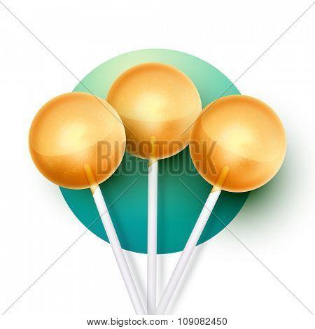 vector lollipop illustration