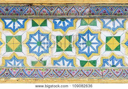 Flower Pattern Of Ceramic Tile