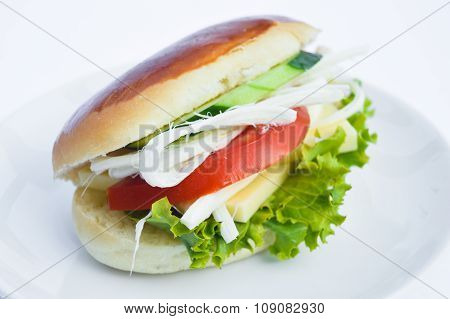 Very tasty sandwich
