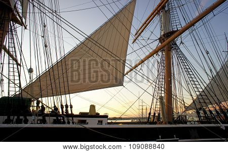 Windjammer Ship