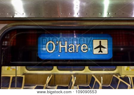 O'hare Airport Subway Station - Chicago