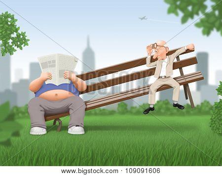 Illustration - Overweight