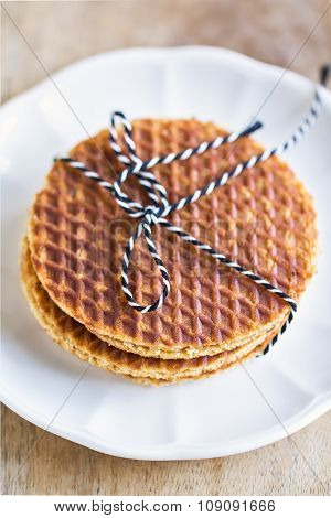 Stack Of Stroopwafels