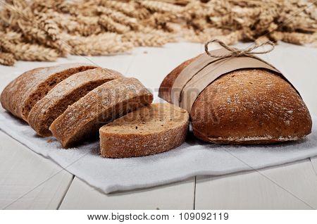Ciabatta With Ears Of Wheat