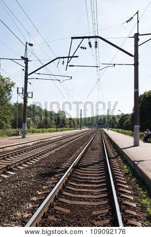 Railway Tracks in Minsk