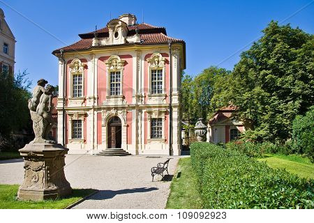 Museum Of Antonin Dvorak (michna Chateau), New Town, Prague, Czech Republic