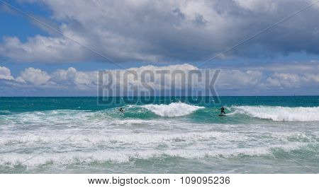 Scarborough Beach Surfing, Western Australia