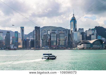 Victoria Bay, Hong Kong, China