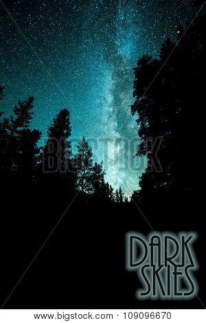 Milky Way Dark Skies