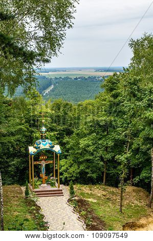 Chapel at the mountain of God Pochaiv