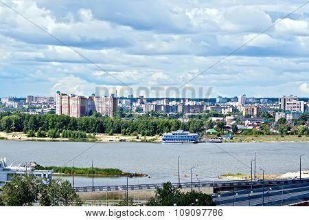 Embankment In Kazan