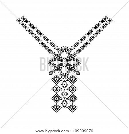 Neckline Design In Ethnic Style For Fashion