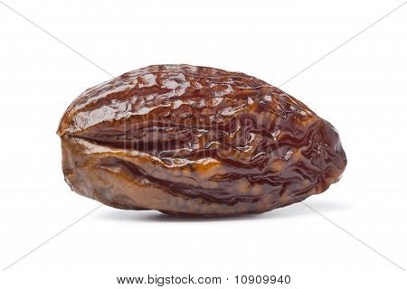 Whole single sweet dried date
