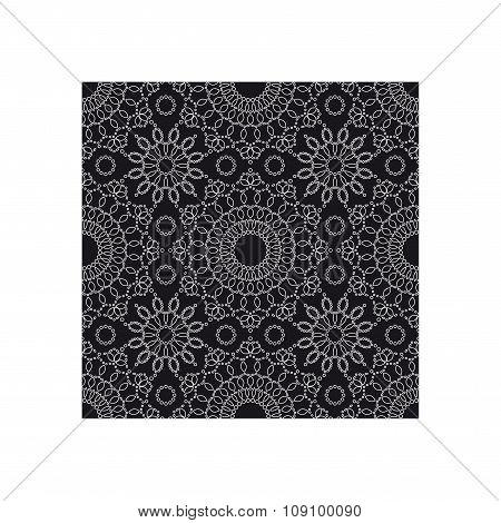 Seamless pattern. Lace.
