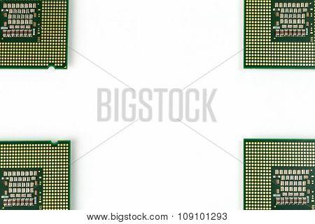 CPU on four corners