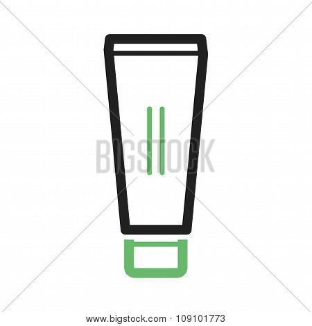 Cream in tube