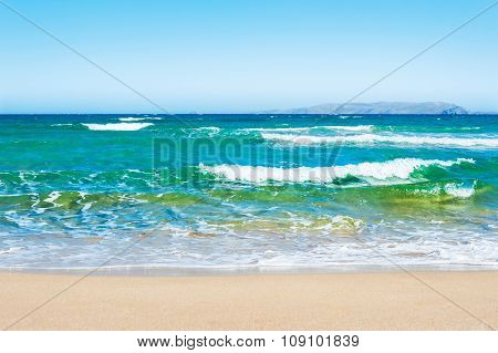 Beautiful Tropical Beach With Turquoise Water