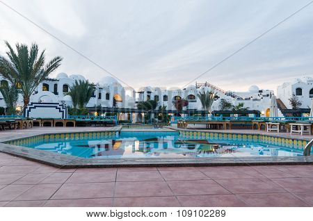 Pool at Hurghada hotel