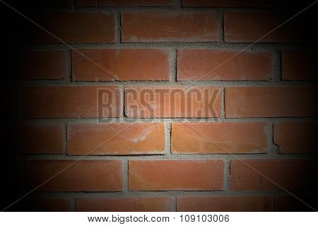 Background of brick wall texture .