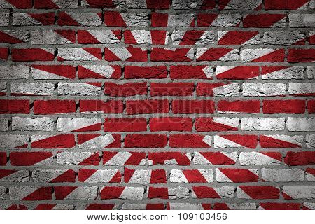 Dark Brick Wall - Japan
