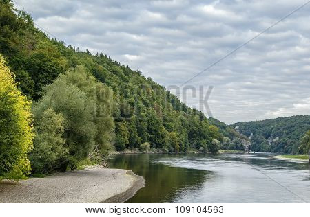 The Picturesque Banks Of The Danube, Germany