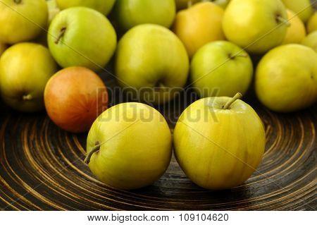 Thai Jujubes Fruits