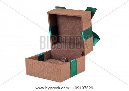 Open Elegant Jewelery Gift Box