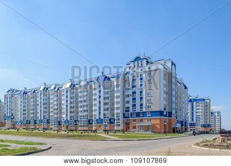Beautiful Multi-storey Residential Building In New District Of City