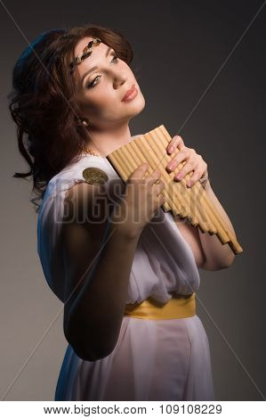 Venus Playing The Flute