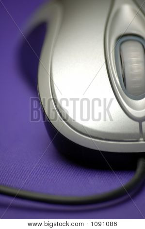 Grey Laser Mouse