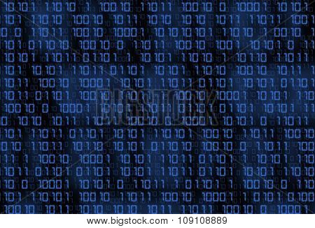 Technology Binary Background