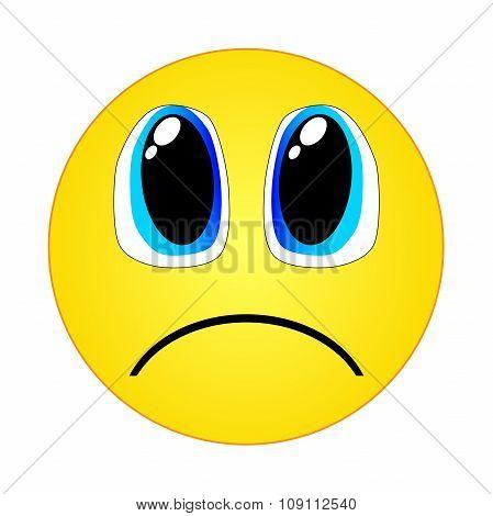 Sadness emoticon