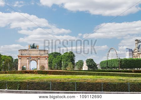 Arc de Triomphe du Carrousel, Paris,