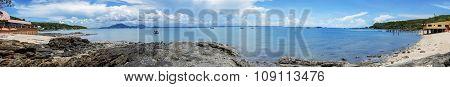 Panorama sea scape