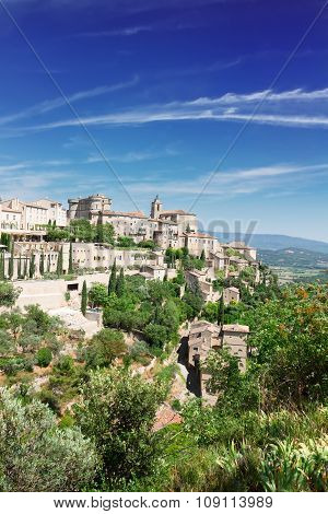 panorama of Gordes