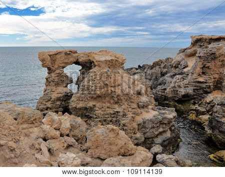 Limestone Windows at Cape Peron, Western Australia