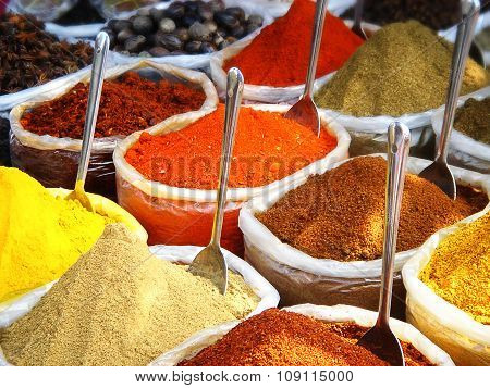 Spices In The Indian Market