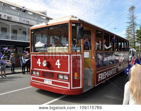 Fremantle Trolley: Anzac Day Parade, Western Australia