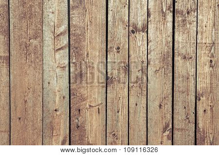 Wood Texture With Weathered Paint
