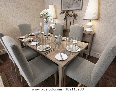 Dining Classic Style
