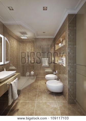 Bathroom Classical Style