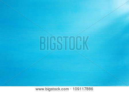 bright blue wooden background texture